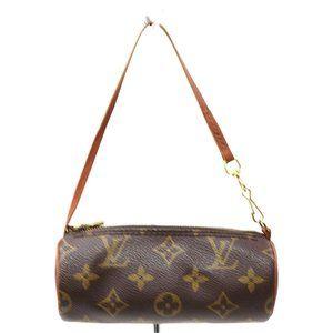 Auth Louis Vuitton Papillon Pouch #14976L15